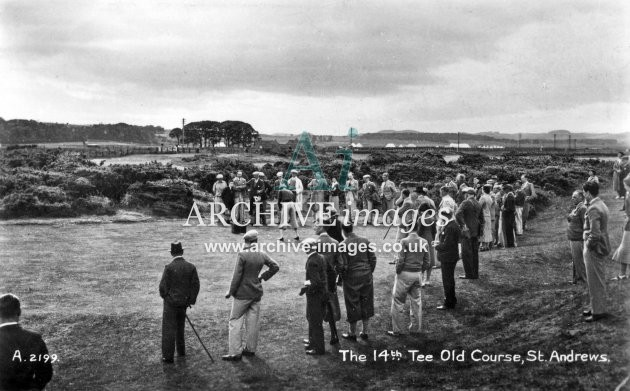 St Andrews, Old Course, 14th Tee
