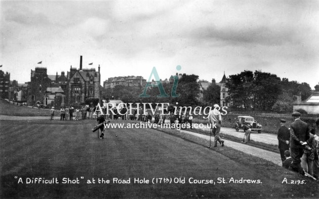 St Andrews, Old Course, 17th