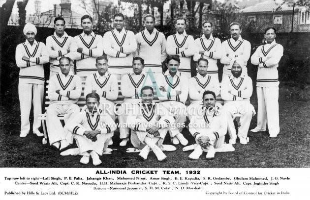 Indian Cricket Team 1932