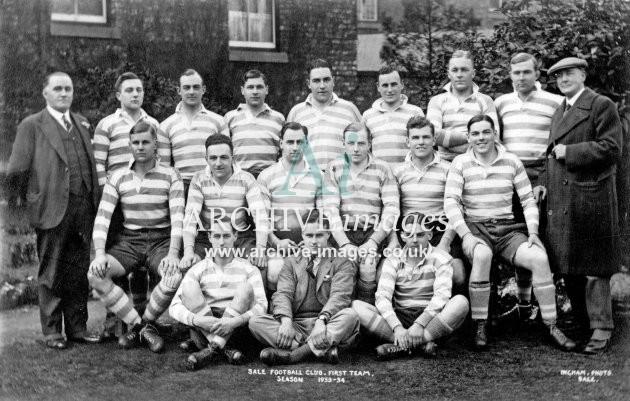 Sale FC 1933-4
