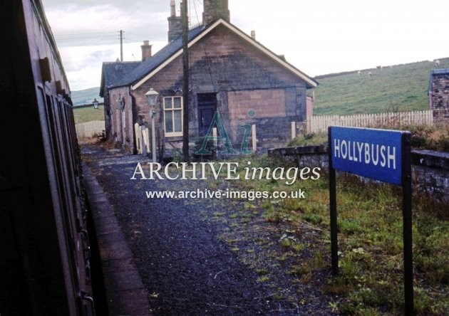 Hollybush Railway Station c1965