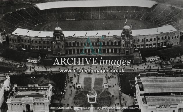 Wembley Stadium 1924, British Empire Exhibition MD
