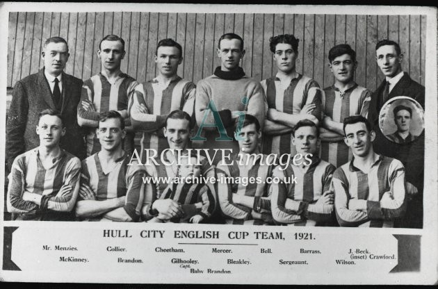 Hull City Football Club 1921 MD