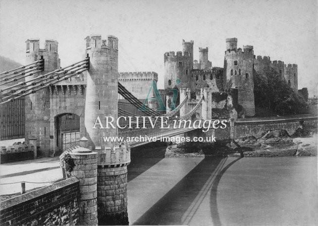 Conway Castle & Suspension Bridge