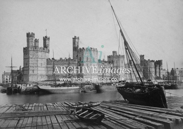 Caernarvon Castle &  Harbour