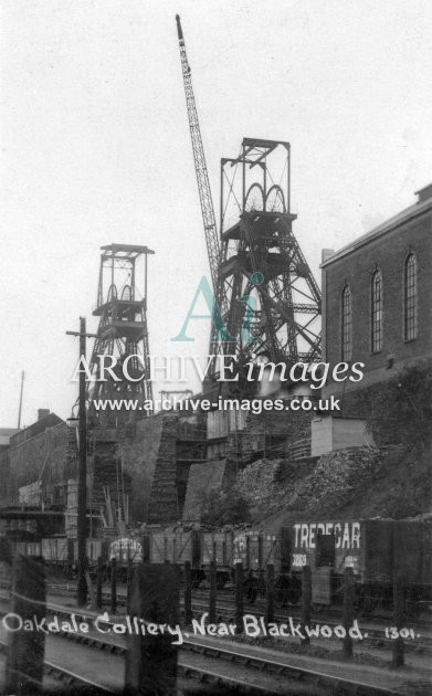 Blackwood, Oakdale Colliery