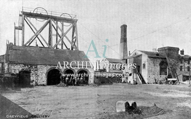 Clutton, Greyfield Colliery A