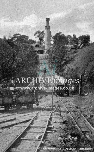 Timsbury, Lower Coneygre Colliery & Incline