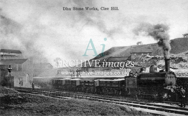 Clee Hill Dhu Stone Works B Archive Images