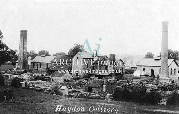 Haydon Colliery, nr Radstock c1907