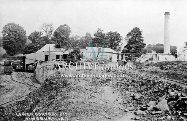Lower Conygre Colliery c1906