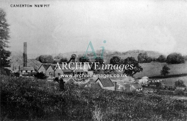 New Pit, Camerton c1907