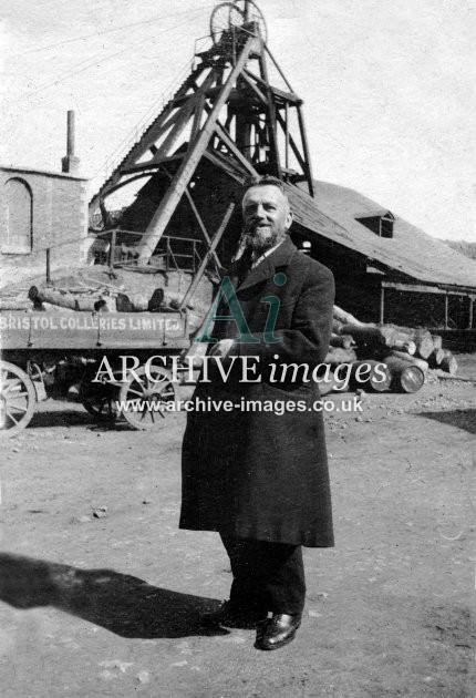 Bristol Collieries Ltd Cart & Head Frame