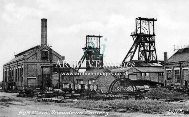 Snowdown Colliery B JR