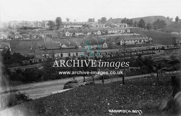 Radstock GWR Yard & Colliery Sidings c1895