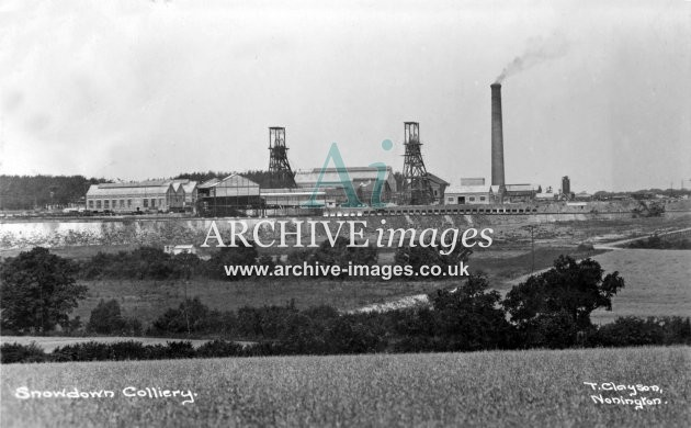 Snowdown Colliery E JR