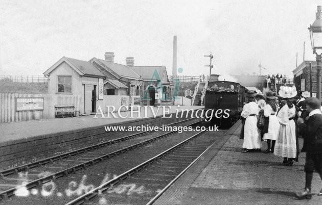 Hesketh Bank Railway Station JR