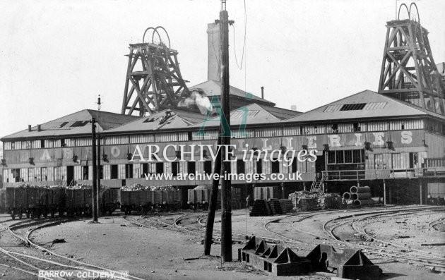 Barrow Colliery, Barnsley A JR