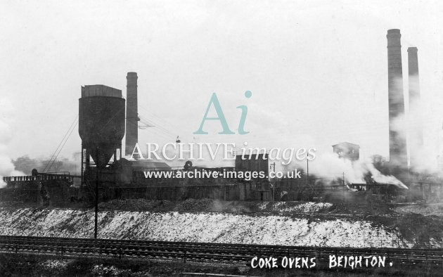 Beighton Colliery coke ovens A JR