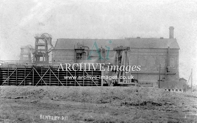Bentley Colliery, c1908 D JR