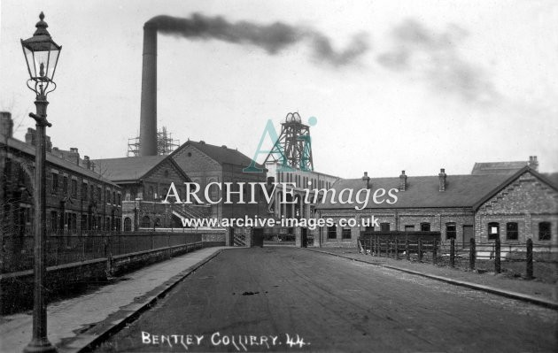Bentley Colliery, K c1914 JR