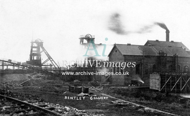Bentley Colliery, M JR