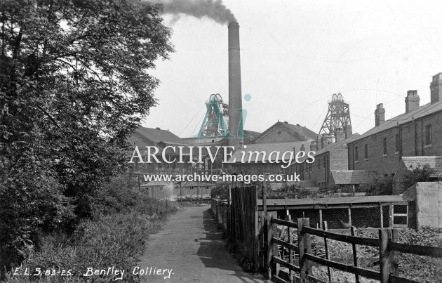 Bentley Colliery, Scrivens, E JR