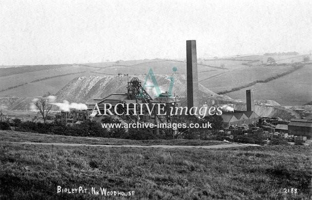 Birley Pit, Woodhouse, c1917 JR