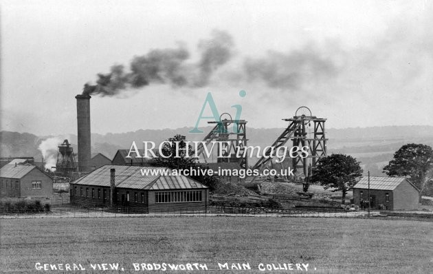 Brodsworth Main Colliery, Doncaster, A JR