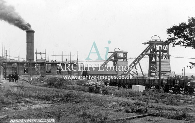 Brodsworth Main Colliery, Doncaster, D JR