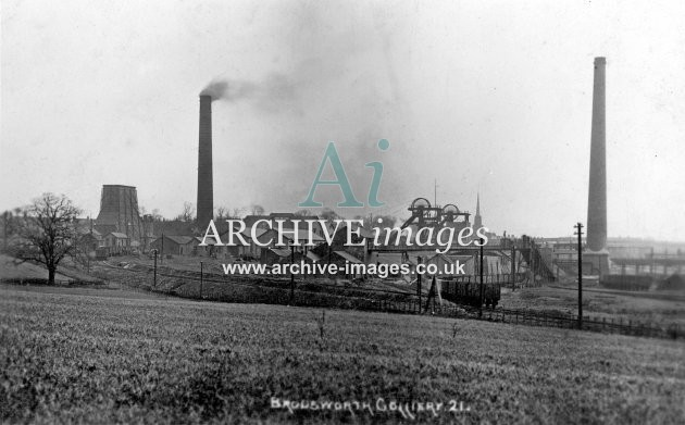 Brodsworth Main Colliery, Doncaster, F JR