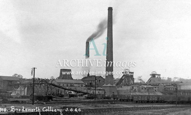 Brodsworth Main Colliery, Doncaster, K, PO wagons JR