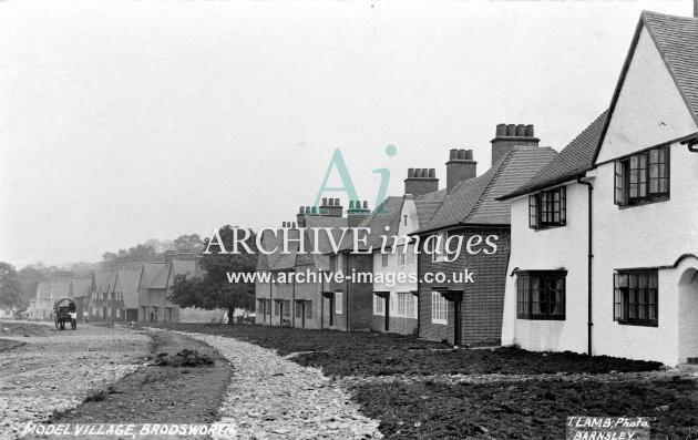 Brodsworth Main Colliery village B 1907 JR