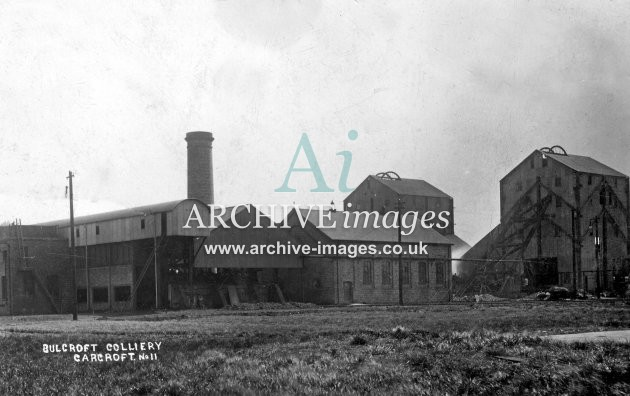 Bullcroft Colliery A JR