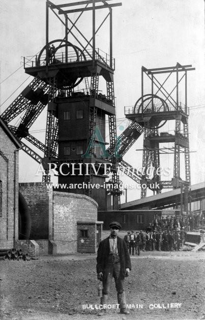 Bullcroft Main Colliery B JR
