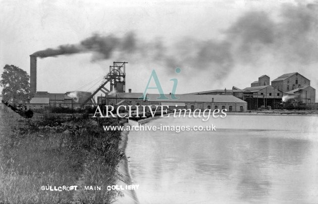 Bullcroft Main Colliery C JR