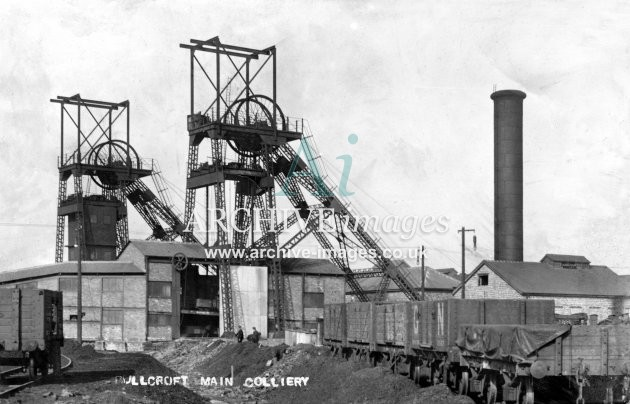 Bullcroft Main Colliery E JR