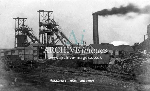 Bullcroft Main Colliery F JR