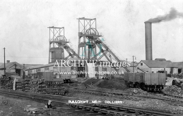 Bullcroft Main Colliery G JR