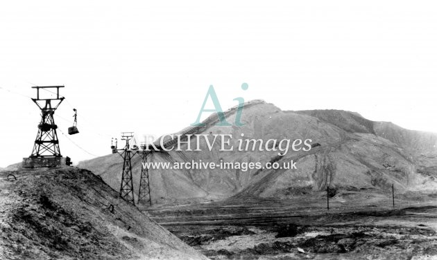Featherstone Main Colliery, Slag Heaps & Aerial Ropeway JR – ARCHIVE images