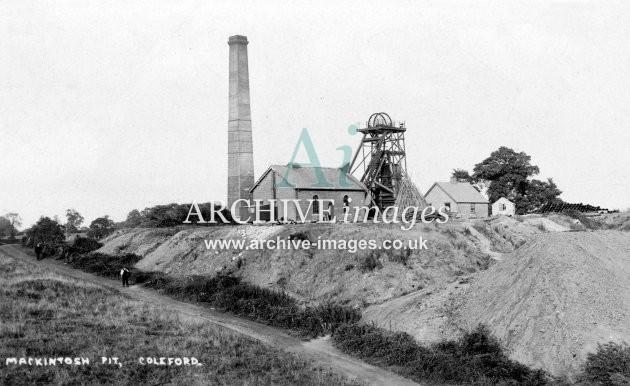 Mackintosh Colliery, near Coleford c1920