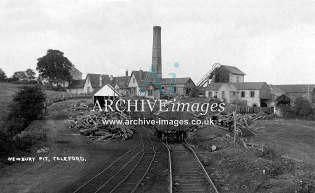 Newbury Colliery, near Coleford c1920