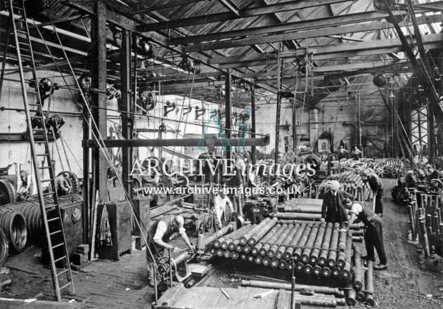 Gloucester RC&W Co Ltd 1924, Axle Manufacture