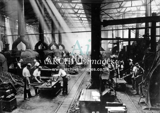Gloucester RC&W Co Ltd 1924, Blacksmiths Shop