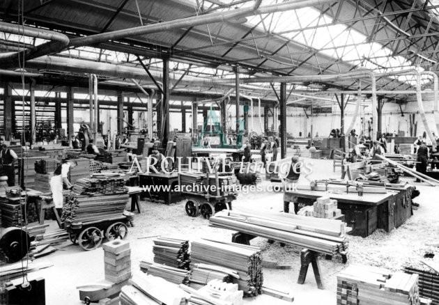 Gloucester RC&W Co Ltd 1924, Carpentry Shop