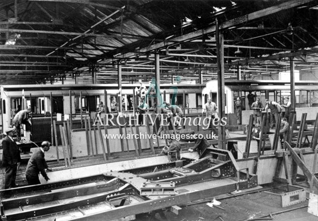 Gloucester RC&W Co Ltd 1924, Carriage Shop, Underframes