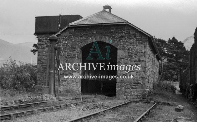 Llanberis, LNWR Locomotive shed