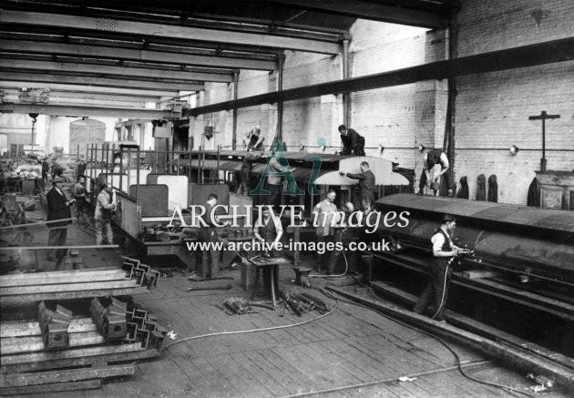 Gloucester RC&W Co Ltd 1924, Carriage Shop