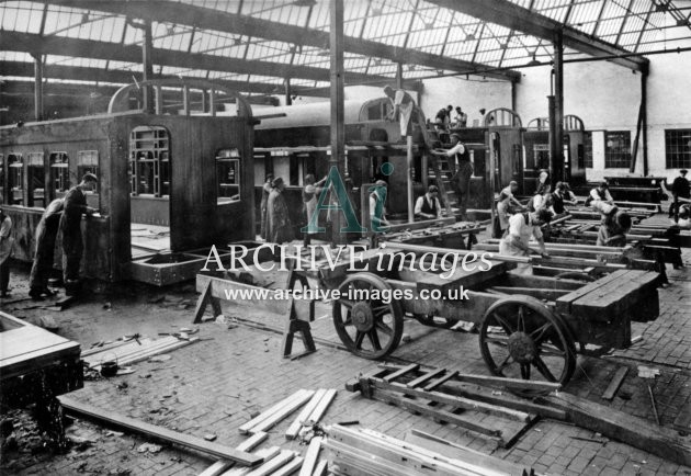Gloucester RC&W Co Ltd 1924, Carriage Shops Building G Stock