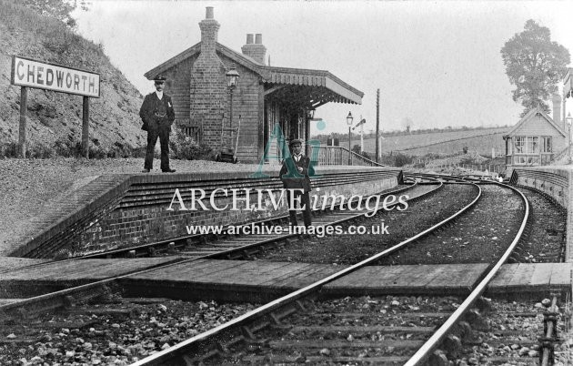 Chedworth Railway Station B, c1906